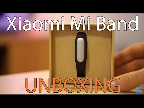 Unboxing Xiaomi Mi Band, la pulsera de actividad barata compatible con iPhone