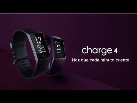 Presentamos Fitbit Charge 4