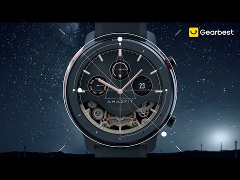Huami AMAZFIT GTR 47mm Smart Watch Official & First Look - Impressions