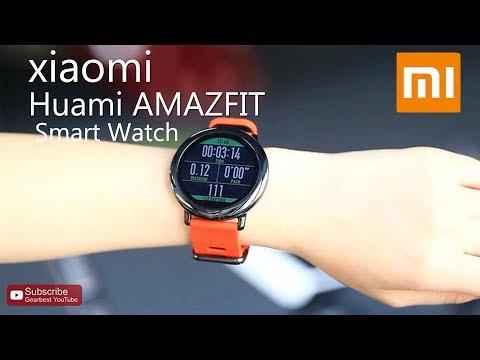 Original Xiaomi Huami AMAZFIT Smart Watch - Gearbest.com
