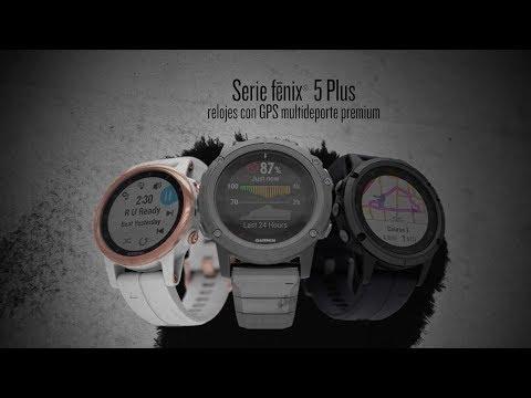 Presentamos la serie fēnix® 5 Plus