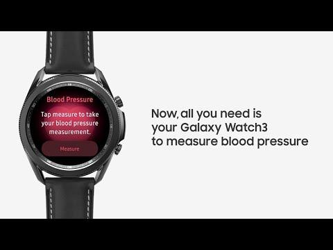 [Watch3] Tutorial Video - Measuring blood pressure