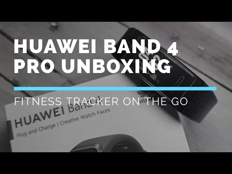 Huawei Band 4 Pro Quick Unboxing