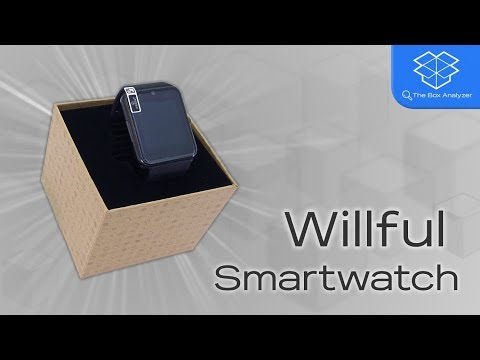 Unboxing: Willful SW016 Smartwatch